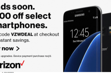 $100 off Verizon Wireless Promotions for New & Existing customers