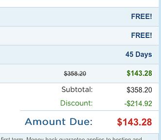 Hostgator coupon code 75 off discount
