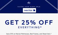 Nectar mattress king $125 Off Coupon [Save 25% Off] – Amazon